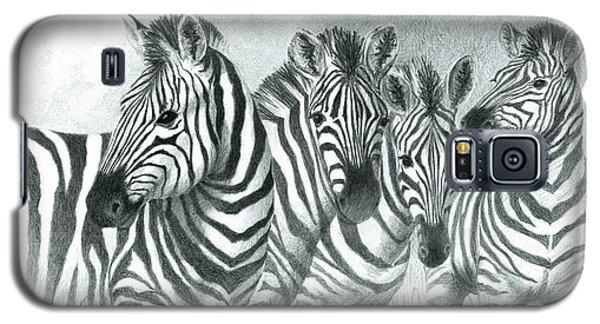 Zebra Quartet Galaxy S5 Case