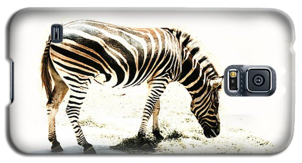 Galaxy S5 Case featuring the photograph Zebra Stripes by Stephen Mitchell