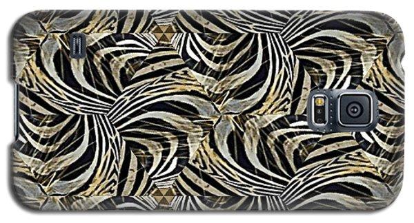 Zebra Vii Galaxy S5 Case by Maria Watt