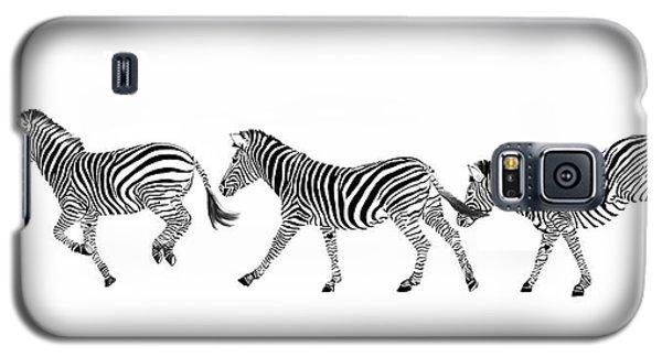 Zebras Dancing Galaxy S5 Case