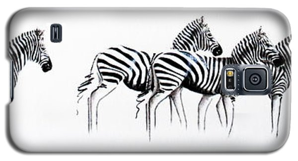 Zebrascape - Original Artwork Galaxy S5 Case