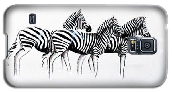 Zebrascape - Original Artwork Galaxy S5 Case
