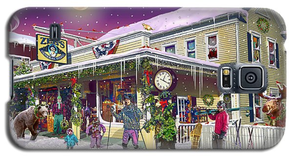 Zebs General Store In North Conway New Hampshire Galaxy S5 Case by Nancy Griswold