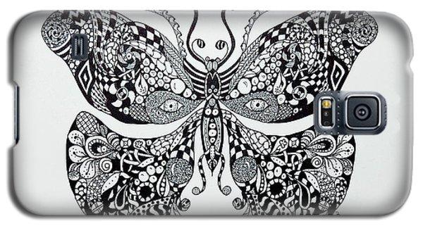 Zen Butterfly Galaxy S5 Case by Tamyra Crossley