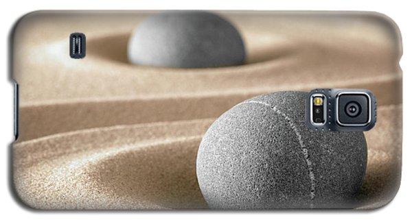 Galaxy S5 Case featuring the photograph Zen Stone Garden by Dirk Ercken