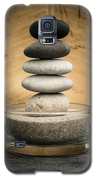 Zen Stones I Galaxy S5 Case by Marco Oliveira