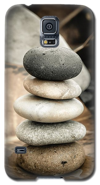 Zen Stones Iv Galaxy S5 Case by Marco Oliveira