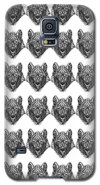 Zendoodle Wolf Galaxy S5 Case