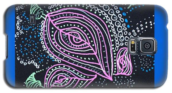 Zentangle Flower Galaxy S5 Case