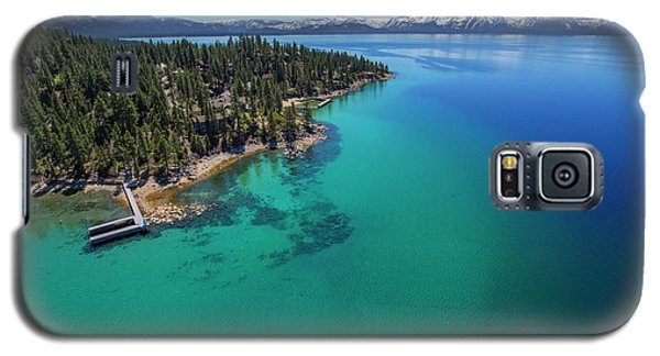 Galaxy S5 Case featuring the photograph Zephyr Point Aerial by Brad Scott