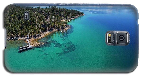 Zephyr Point Aerial Galaxy S5 Case by Brad Scott