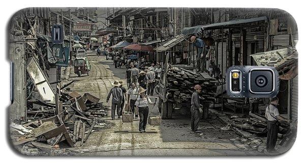 Galaxy S5 Case featuring the photograph Zhangjiajie Ancient Town by Wade Aiken