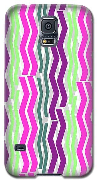 Zig Zig Stripes Galaxy S5 Case