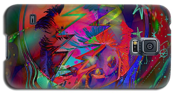 Galaxy S5 Case featuring the painting Ziggy  by Kevin Caudill
