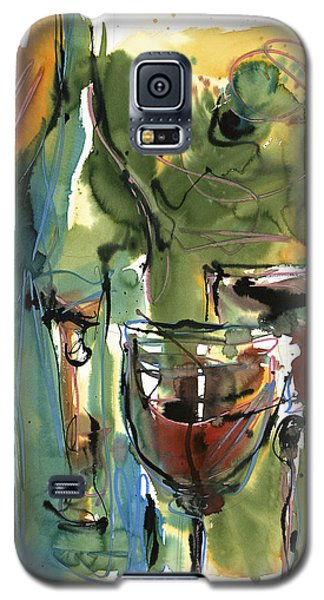 Galaxy S5 Case featuring the painting Zin-findel by Robert Joyner