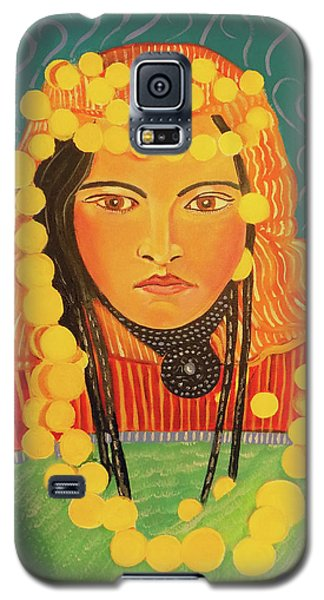 Galaxy S5 Case featuring the painting Zina by John Keaton