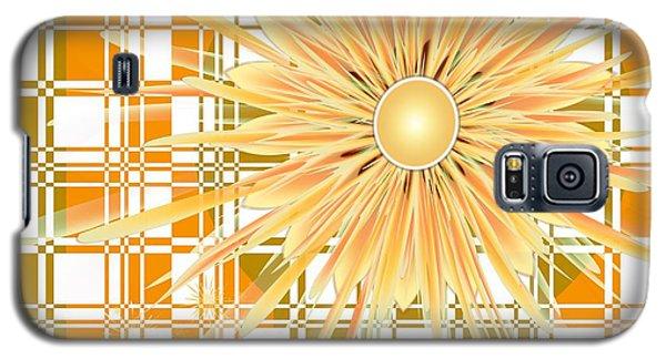 Zinnia Galaxy S5 Case by Michelle H