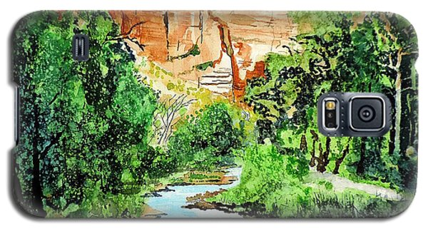 Zion And The Virgin River Two Galaxy S5 Case by Tom Riggs