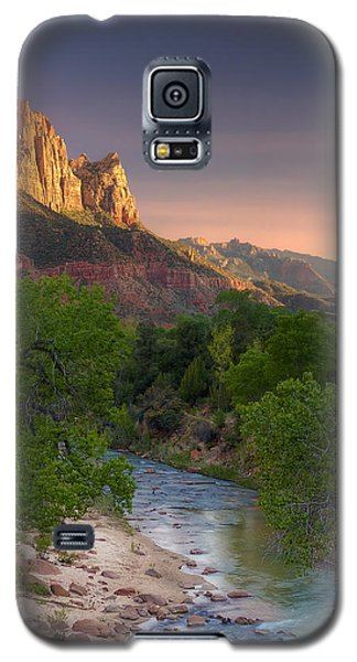 Zion Canyon Sunset Galaxy S5 Case