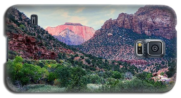 Zion National Park Galaxy S5 Case