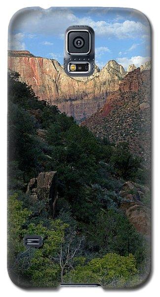 Zion National Park 20 Galaxy S5 Case by Jeff Brunton