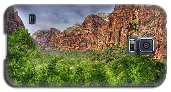Zion View Of Valley With Trees Galaxy S5 Case