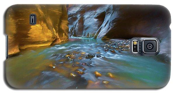 Zion Watercolor Galaxy S5 Case