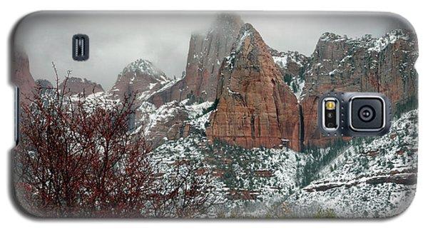 Zion Winter Skyline Galaxy S5 Case