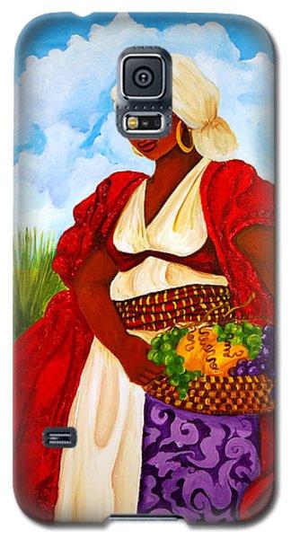 Galaxy S5 Case featuring the painting Zipporah by Diane Britton Dunham
