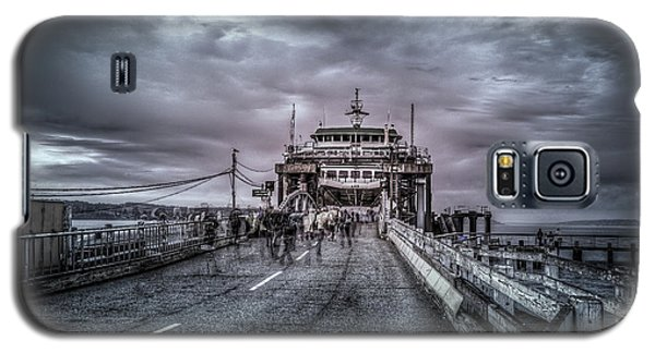 Galaxy S5 Case featuring the photograph Zombie Ferry Ride by Spencer McDonald