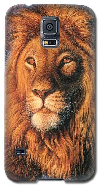 Zoofari Poster The Lion Galaxy S5 Case