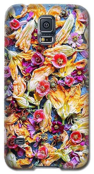 Zucchini Blossoms Season Galaxy S5 Case