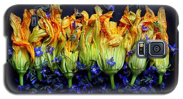 Zucchini Flowers Galaxy S5 Case
