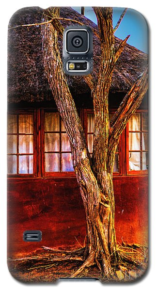 Galaxy S5 Case featuring the photograph Zulu Hut by Rick Bragan