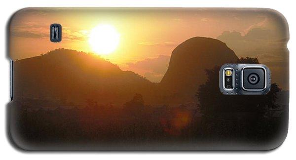 Zuma Rock, Abuja Nigeria Galaxy S5 Case by Bankole Abe