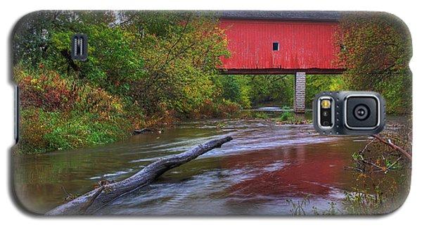Zumbrota Minnesota Historic Covered Bridge 5 Galaxy S5 Case