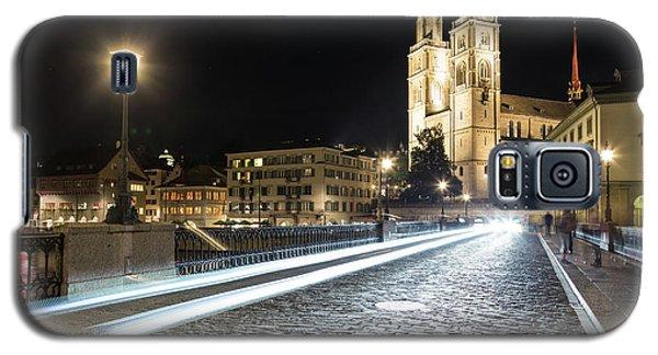 Zurich Night Rush In Old Town Galaxy S5 Case