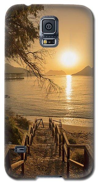 Access To The Beach At Dawn Galaxy S5 Case