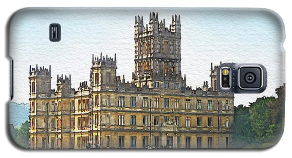A View Of Highclere Castle Galaxy S5 Case