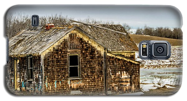 Abondened Old Farm Houese And Estates Dot The Prairie Landscape, Galaxy S5 Case