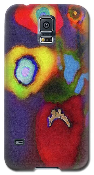 Abstract Floral Art 367 Galaxy S5 Case