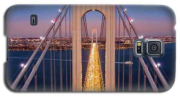 Aerial View Of Verrazzano Narrows Bridge Galaxy S5 Case