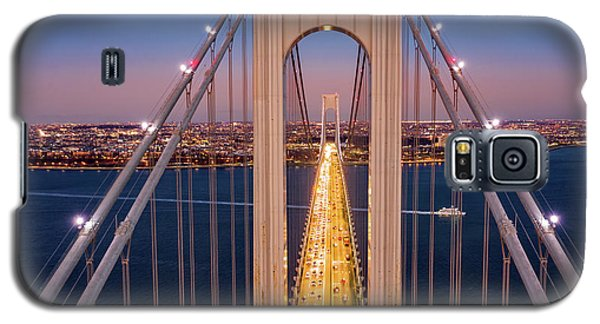 Aerial View Of Verrazzano Narrows Bridge Galaxy S5 Case
