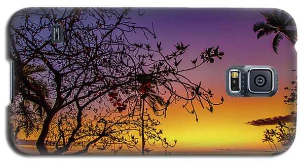 After Sunset Colors Galaxy S5 Case