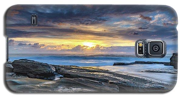 An Atmospheric Coastal Sunrise Galaxy S5 Case
