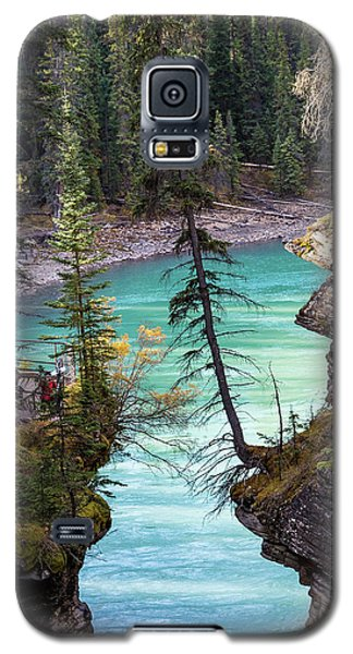 Athabasca Falls Galaxy S5 Case