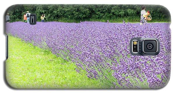 Blue Lavender Galaxy S5 Case