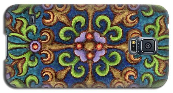 Botanical Mandala 8 Galaxy S5 Case