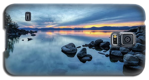 Colorful Sunset At Sand Harbor Galaxy S5 Case