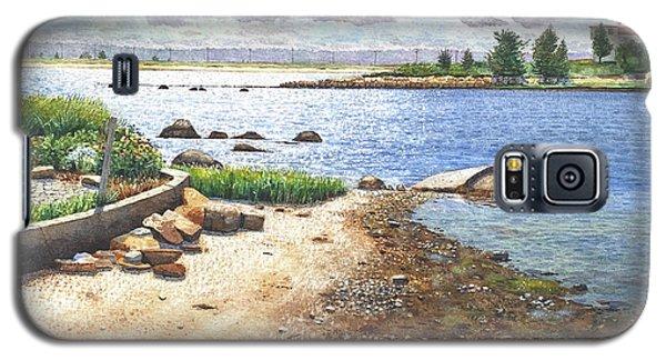 Crab Rock, Low Tide Galaxy S5 Case
